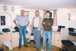 The sensory software office in 2004