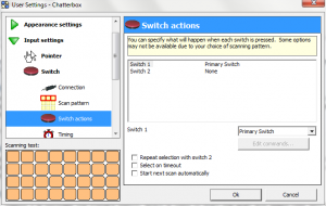 The Grid 2 Access Methods: Switches - thinksmartbox com