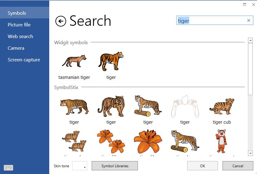 symbol search