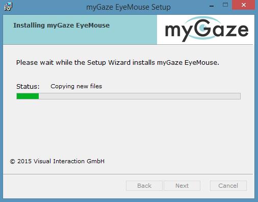Mygaze install 4
