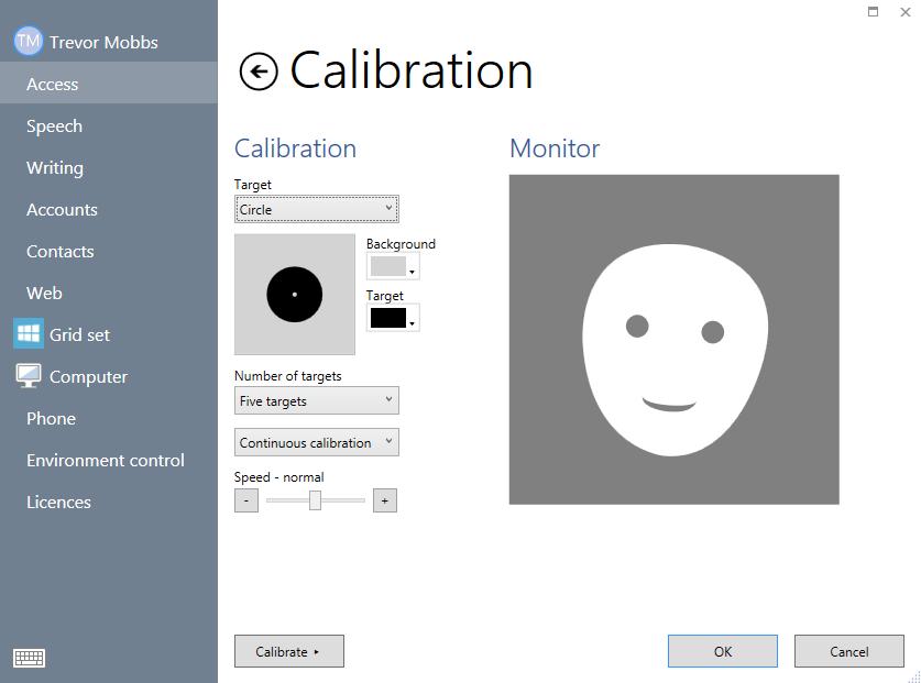 eye gaze calibration