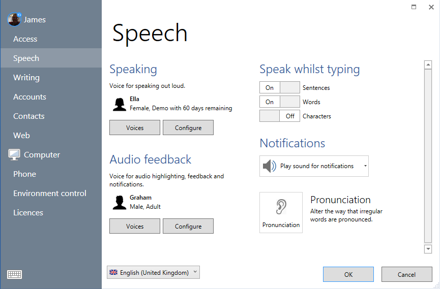 voicestorespeech