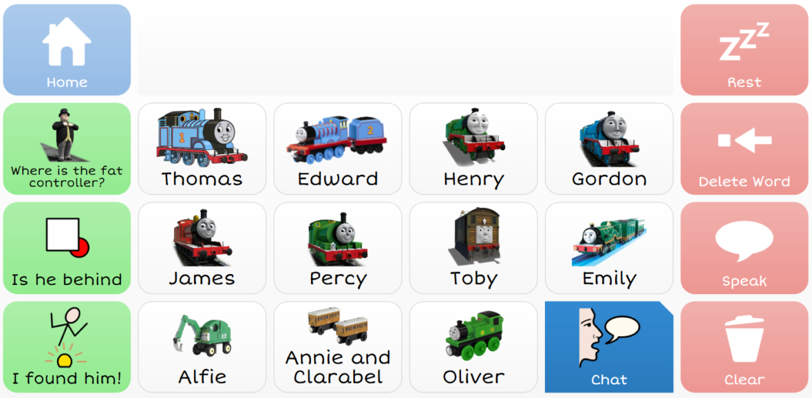 Where's the Fat Controller grid set