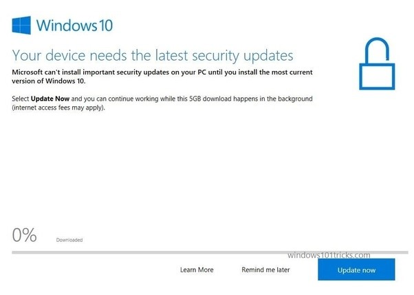 windows 10 manually check for updates