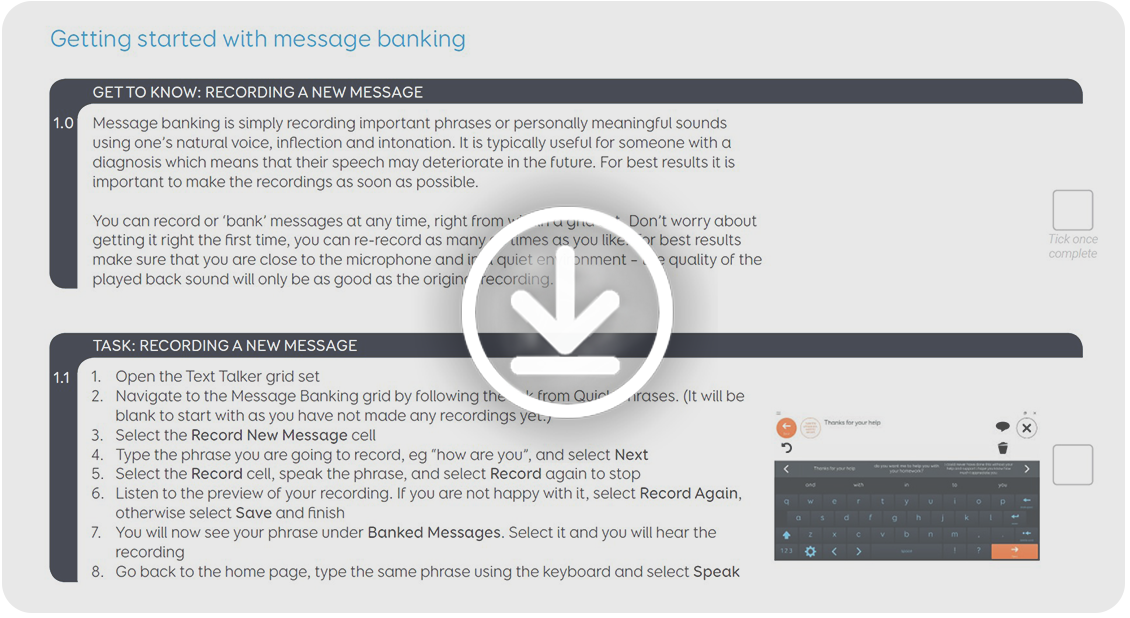 Learn more about Message banking - thinksmartbox com