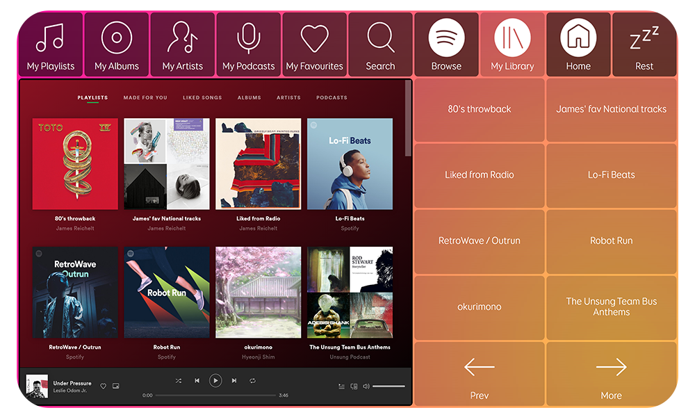 Spotify for Grid image