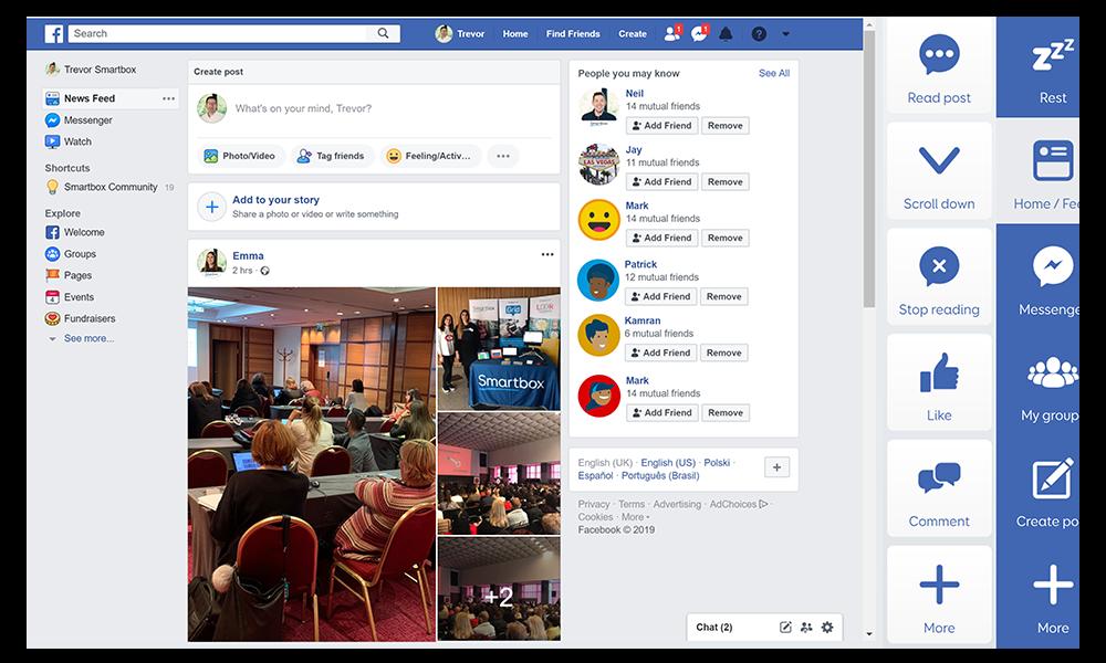 Facebook for Grid image